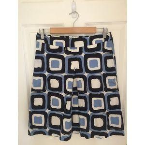 Banana Republic Geometric Printed Skirt